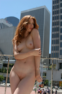 Amber full public nudity in San Francisco beautiful young girl nudeinsf spread pussy ass tits