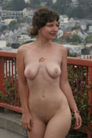 Kellie full public nudity in San Francisco beautiful young girl nudeinsf spread pussy ass tits