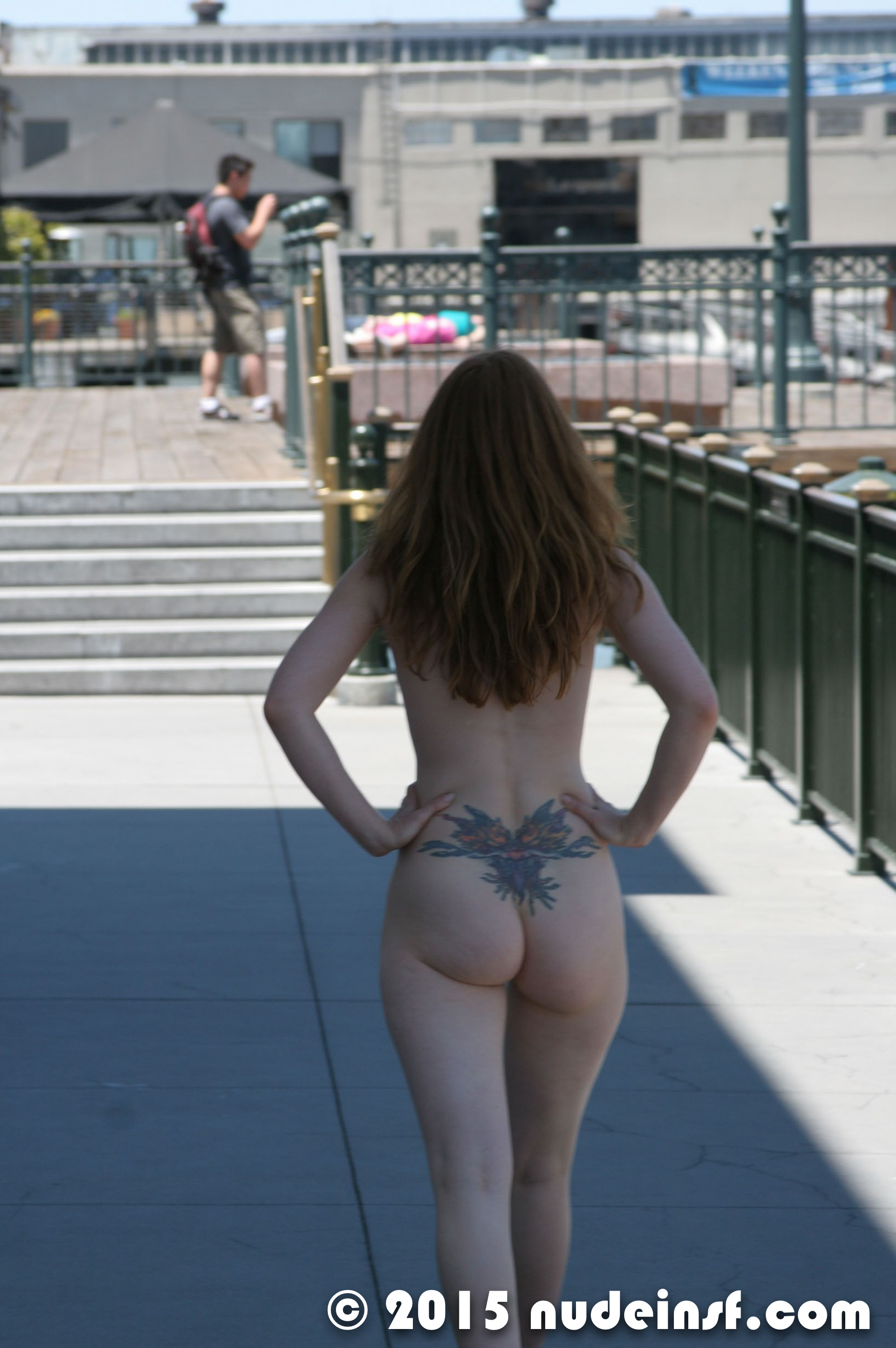 Amber - Public nudity in San Francisco California